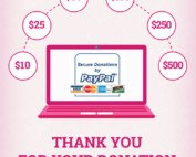 online donation product page